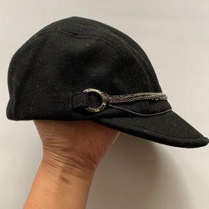NWOT Armani Exchange Wool Baseball Hat